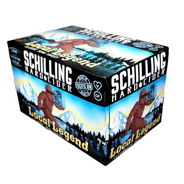 Schilling Local Legend Classic Semi Sweet Cider 6-Pack Can