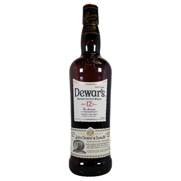 Dewars 12 Year Blended Scotch Whisky