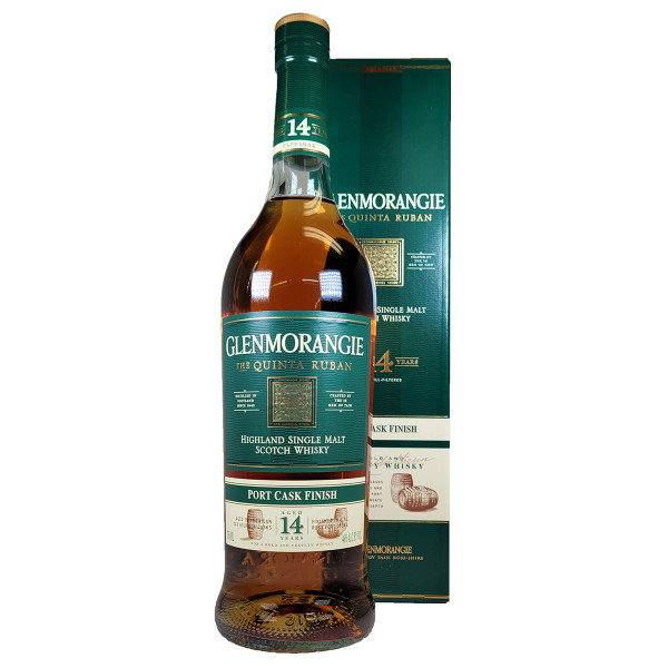 Glenmorangie 14 Year Quinta Ruban Port Cask Finish Scotch Whisky