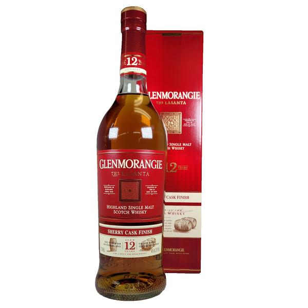 Glenmorangie 12 Year Lasanta Sherry Cask Finish Single Malt Scotch Whisky