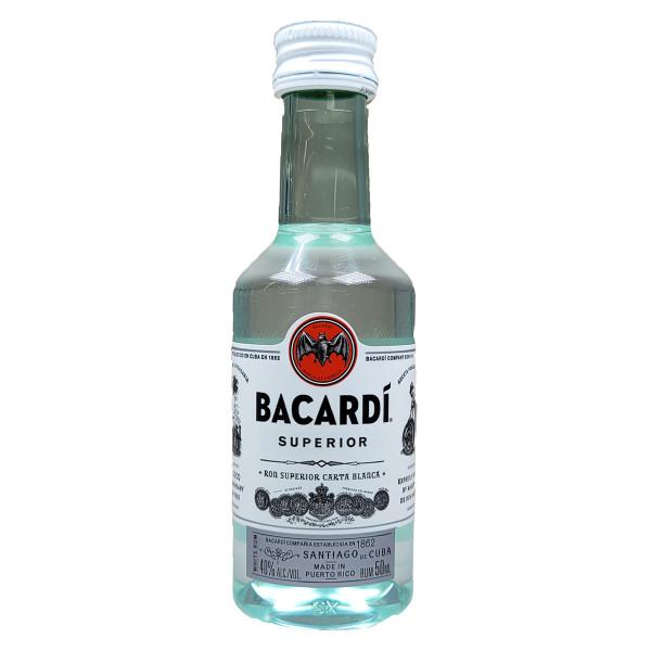 Bacardi Superior Rum 50ML
