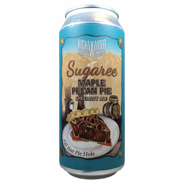 High Water Sugaree Maple Bourbon Pecan Pie Can