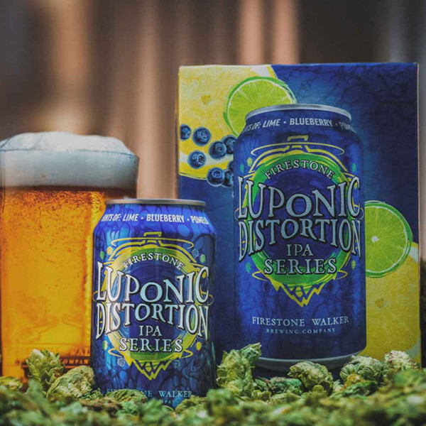 Firestone Luponic Distortion (No. 17) IPA 6-Pack Can