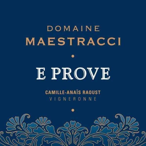 Domaine Maestracci 2015 E Prove Corse Calvi