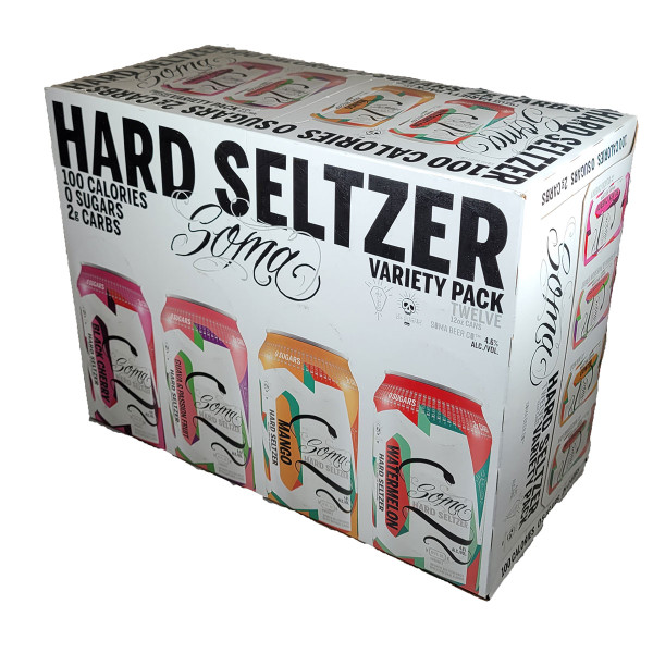 Soma Hard Seltzer Variety 12-Pack Can