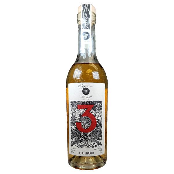 123 Organic Tequila Anejo (3) 375ML