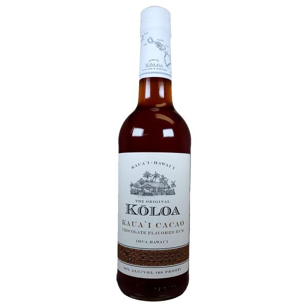 Koloa Kauai Cacao Rum