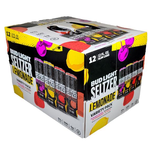 Bud Light Seltzer Lemonade Variety Pack 12-Pack Can