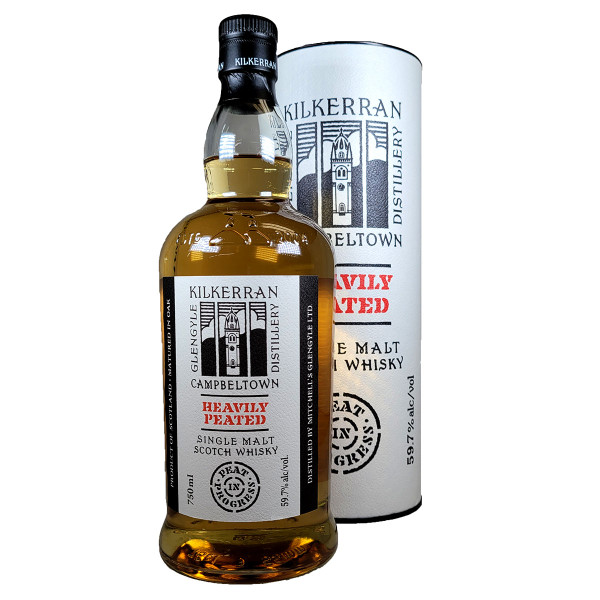Kilkerran Heavily Peated Batch No. 3 Single Malt Scotch