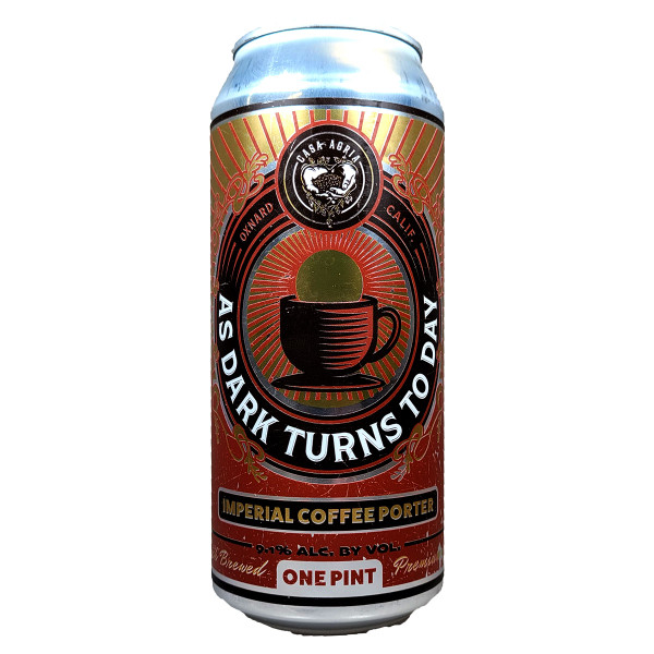 Casa Agria As Dark Turns To Day Imperial Coffee Porter Can
