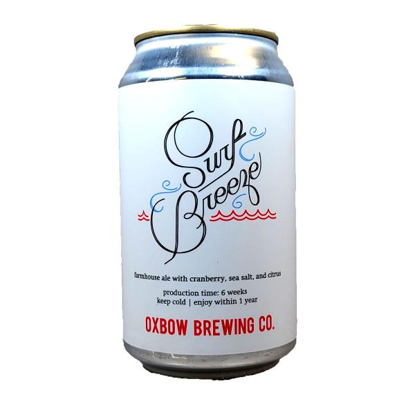 Oxbow Surf Breeze Farmhouse Ale Can