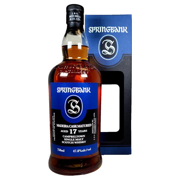 Springbank 17 Year Madeira Cask Single Malt Scotch Whisky