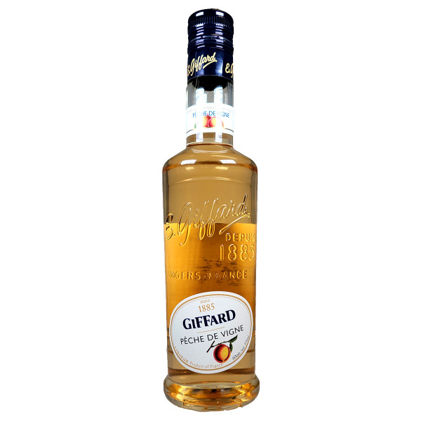 Giffard Creme De Peche Liqueur 375ML