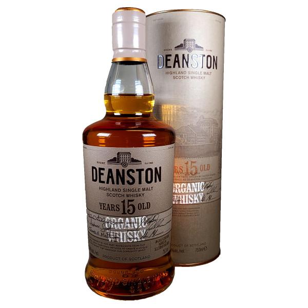 Deanston 15 Year Organic Single Malt Scotch Whisky