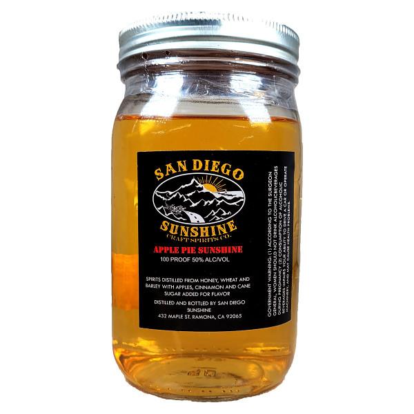 San Diego Sunshine Apple Pie Whiskey