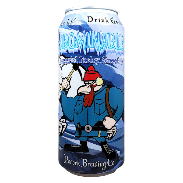 Pocock Abominable Imperial Pastry Smoothie Can, 16OZ