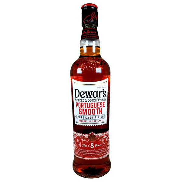 Dewar's Portuguese Smooth Port Cask Finish 8 Year Blended Scotch Whiskey