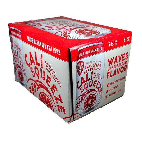 SLO Brew Cali Squeeze Blood Orange Hefeweizen 6-Pack Can