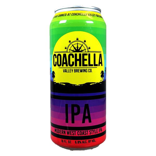 Coachella Modern West Coast Style IPA Can