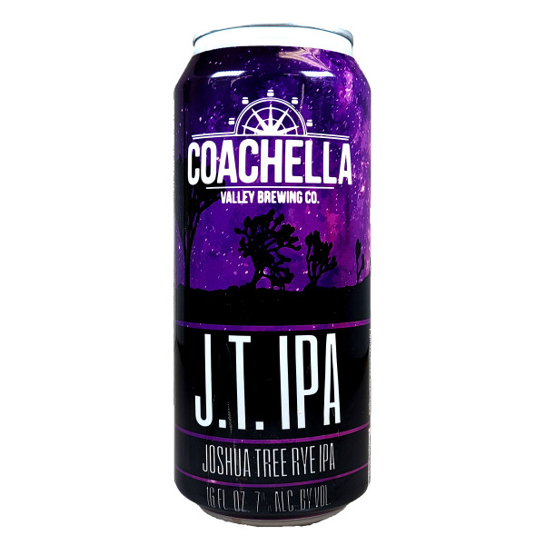 Coachella Joshua Tree Rye IPA Can