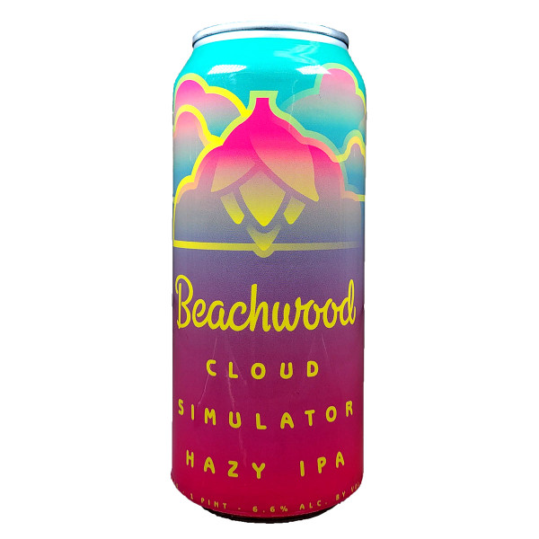 Beachwood Cloud Simulator Hazy IPA Can