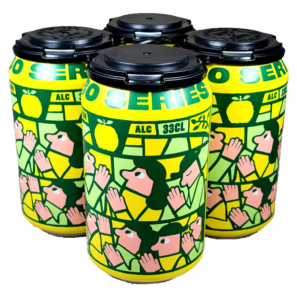 Mikkeller Limbo Series Yuzu Non-Alcoholic 4-Pack Can
