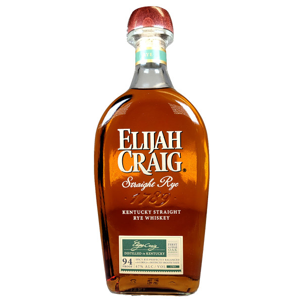 Elijah Craig Rye Whiskey