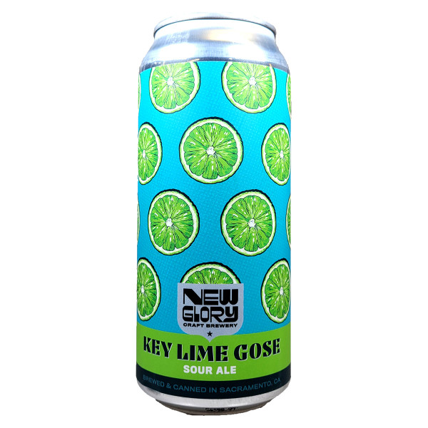 New Glory Key Lime Gose Sour Ale Can