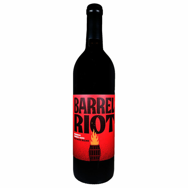 Barrel Riot Bourbon Barrel Aged Red Wine Blend