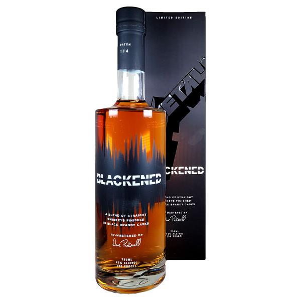 Blackened Limited Edition Black Album Whiskey Pack