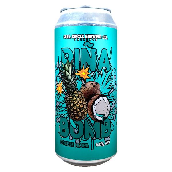 Full Circle Pina Bomb Double NE Style IPA Can