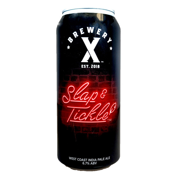 Brewery X Slap & Tickle West Coast IPA Can