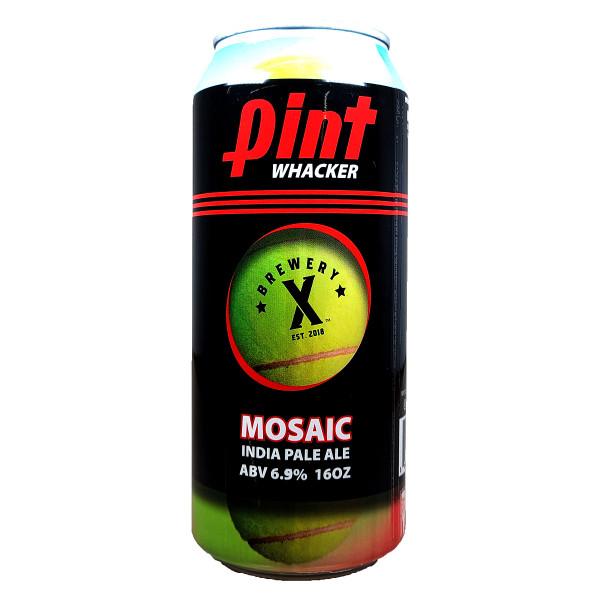 Brewery X Pint Whacker Mosaic IPA Can