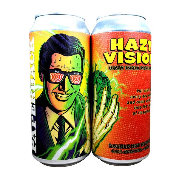 Paperback Hazy Vision Hazy IPA Can