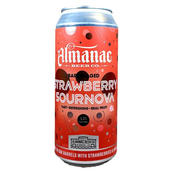 Almanac Barrel-Aged Strawberry Sournova Can