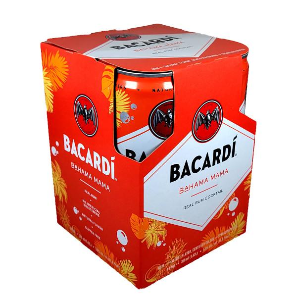 Bacardi Bahama Mama 4-Pack Can