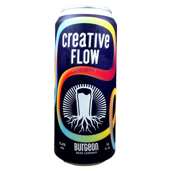 Burgeon Creative Flow Pale Ale Can 16oz