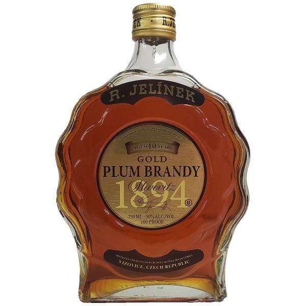 Jelinek Slivovitz 10 Year Gold Plum Brandy