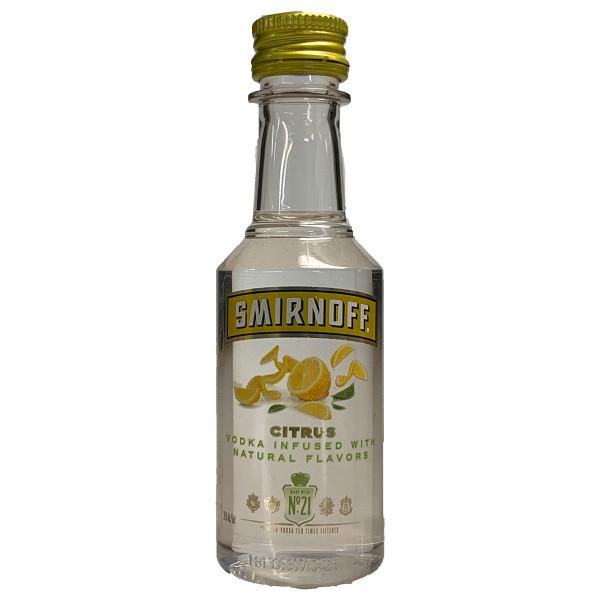 Smirnoff Citrus Vodka 50ML