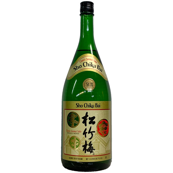 Sho Chiku Bai Classic Junmai Sake 1.5L