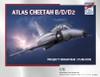 "High Planes ATLAS Cheetah B/D/D2 ""Project Brahman / Cushion"" Kit 1:72"