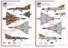 High Planes Dassault Mirage IIID/O twin pack ARDU and 2OCU Kit 1:72