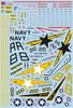 FCM F-14A Tomcat - VF-33 Starfighters Decals 1:48
