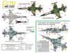 FCM F-5B/E/F Forca Aerea Brasileria Brazilian Tigers Decals 1:48