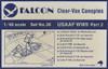 Falcon Clearvax Set 36