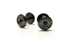 Hornby R8264 14.1mm Diameter Metal 2 Disc Hole Wheel/Axle Set Qty 10 Model Railway Spares