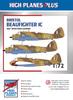 """High Planes Plus HPL072003 Bristol Beaufighter IC """"RAF Western Desert"""" Detail Set Accessories 1:72"""