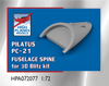 High Planes Pilatus PC-21 Fuselage Spine Accessories 1:72