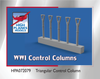 High Planes WWI Control Columns Triangular (Accessories 1:72) (HPA072079)