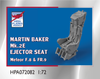 High Planes Martin Baker Mk 2E Ejector Seat suitable for Meteor F.8 FR.9 Accessories 1:72 (HPA072082)